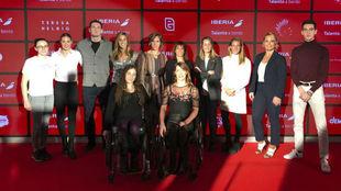 Olímpicos y paralímpicos en la presentación de 'Talento a...