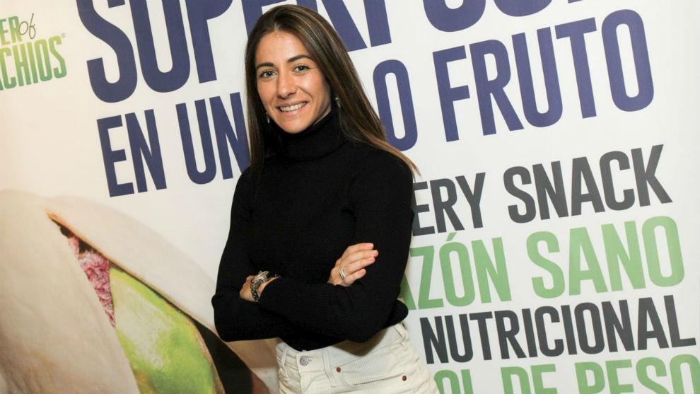 Vicky Losada posa durante el evento celebrado en Casa Juan de Madrid.
