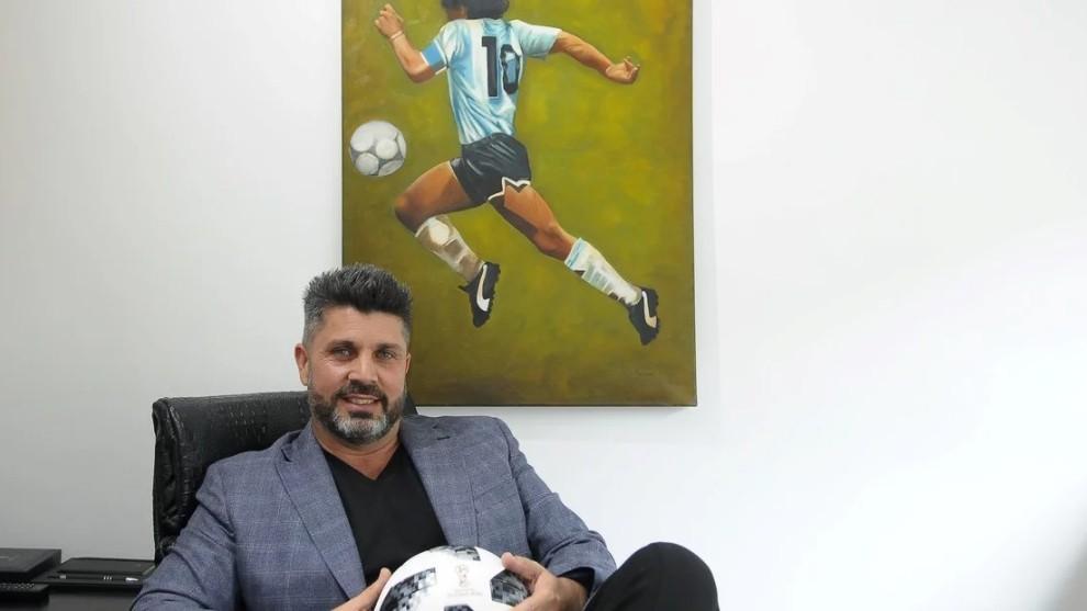 Cristian Bragarnik, representante de Maradona, entre otros.