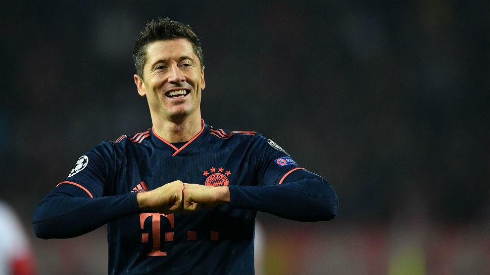 Lewandowski destroza al Estrella Roja con un 'póker' y se pone ...