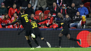 El VAR le anuló dos goles a Lukaku.