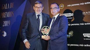 Juan Ignacio Gallardo recibe el premio del presidente de la Fundación...
