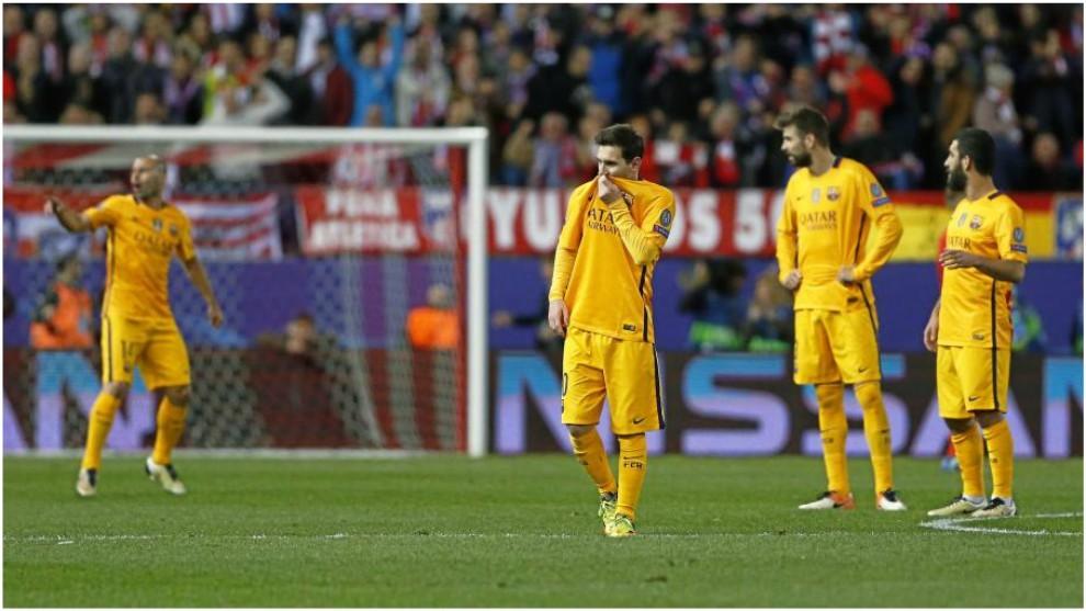 Barcelona Gegen Atletico Madrid