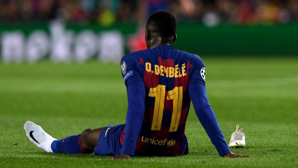 El calvario continúa: Dembelé, 10 semanas fuera y se pierde el Clásico