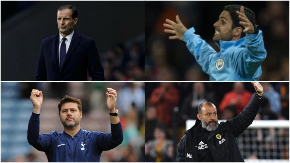 Nuno, Arteta, Allegri y Pochettino posibles sustitutos de Emery