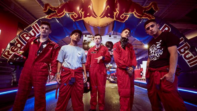 Los finalistas del Red Bull Batalla de los Gallos.