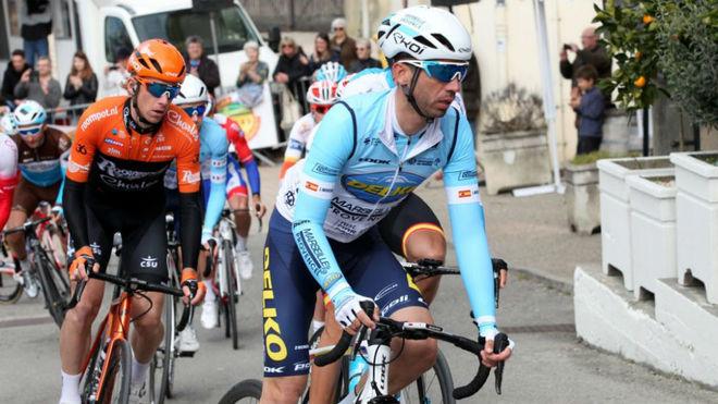 Javier Moreno, en acción