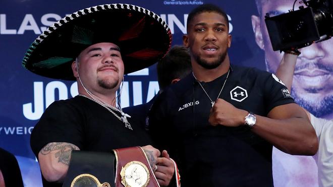 Ruiz y Joshua se declaran listos para el combate.