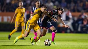Las Rayadas fueron ampliamente superadas, pero rescataron el empate.