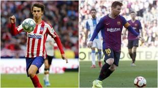 Joao Félix y Leo Messi serán dos de los protagonistas del choque...