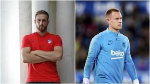 Oblak y Ter Stegen se han convertido en indiscutibles para Atlético y...
