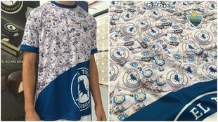 Nueva camiseta del Atlético Tordesillas