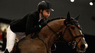 Pilar Cordón, durante el IFEMA Madrid Horse Week.