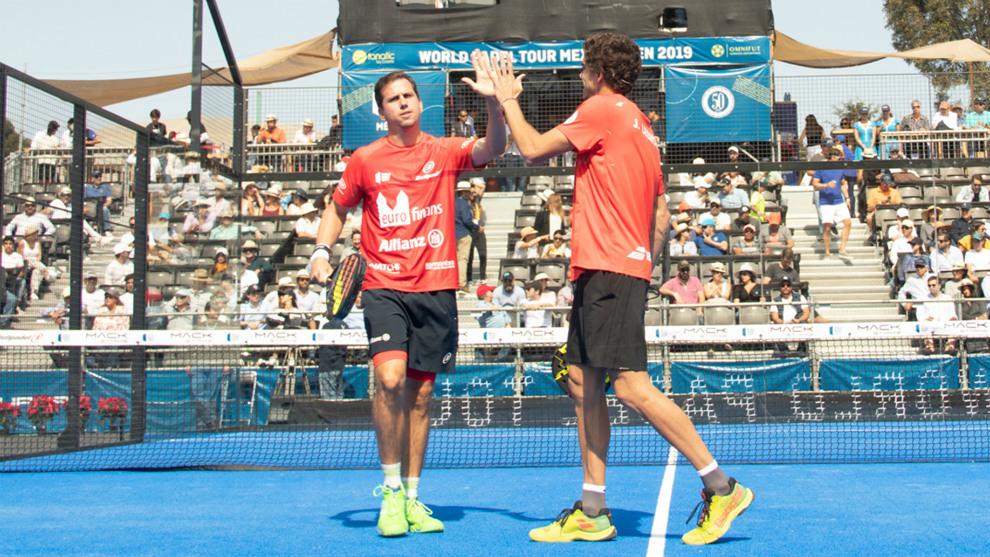 Paquito Navarro y Juan Lebrón, en las semifinales de Mexico
