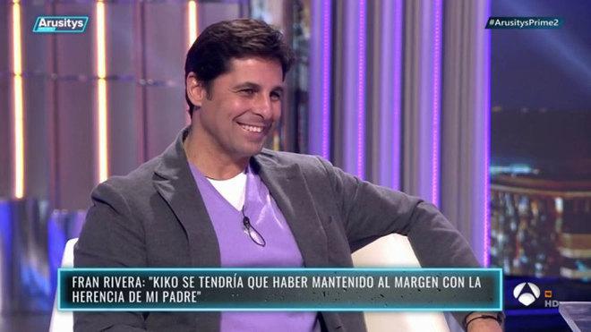 "Fran Rivera, a degüello contra Isabel Pantoja: ""Es mala persona""."