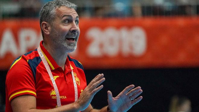 El seleccionador español femenino, Carlos Viver / EFE