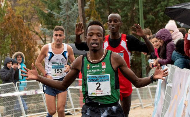 Ndikumwenayo, durante el cross