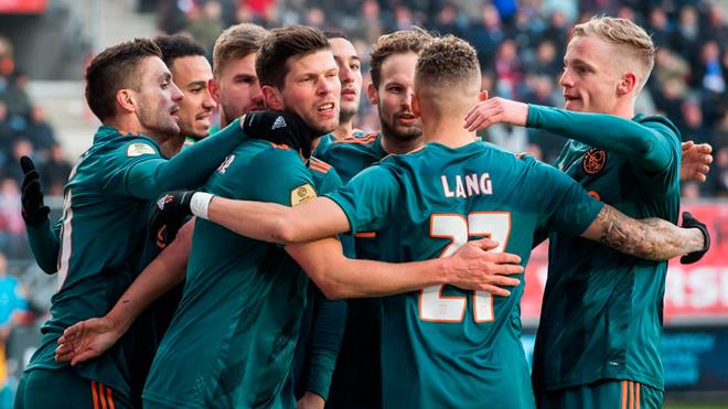 El Ajax luce como claro favorito al título en Holanda.