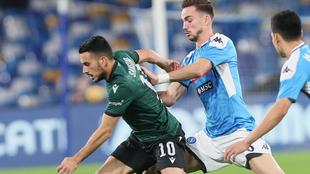 El Bologna salió con los tres puntos de San Paolo con goles de Olsen...