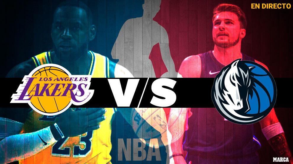 Nba 2019 Lakers Vs Mavericks Resumen Y Resultado Marca Com