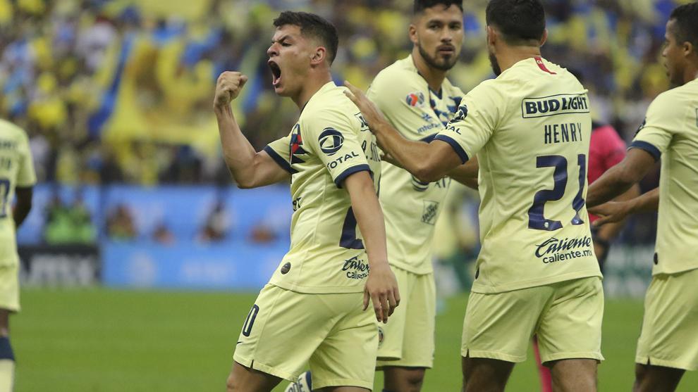 Richard Sánchez anotó el único gol del América en la ida en el...