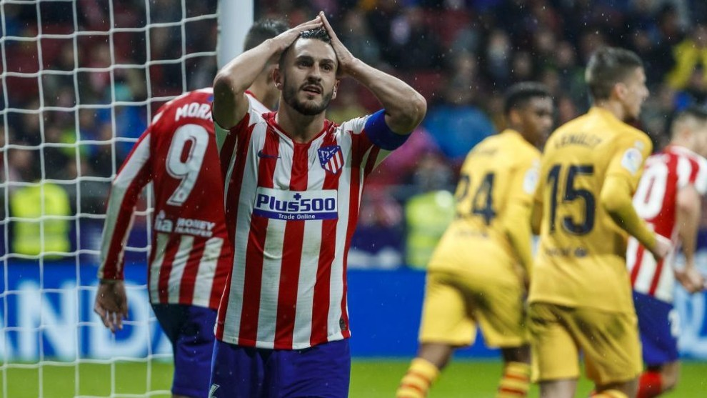 Atletico Madrid: Atletico have the same points tally as they