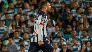 Vincent Janssen en festejo de gol