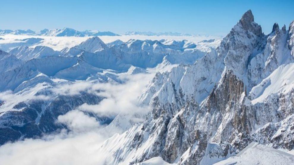 na imagen de los Picos de Europa