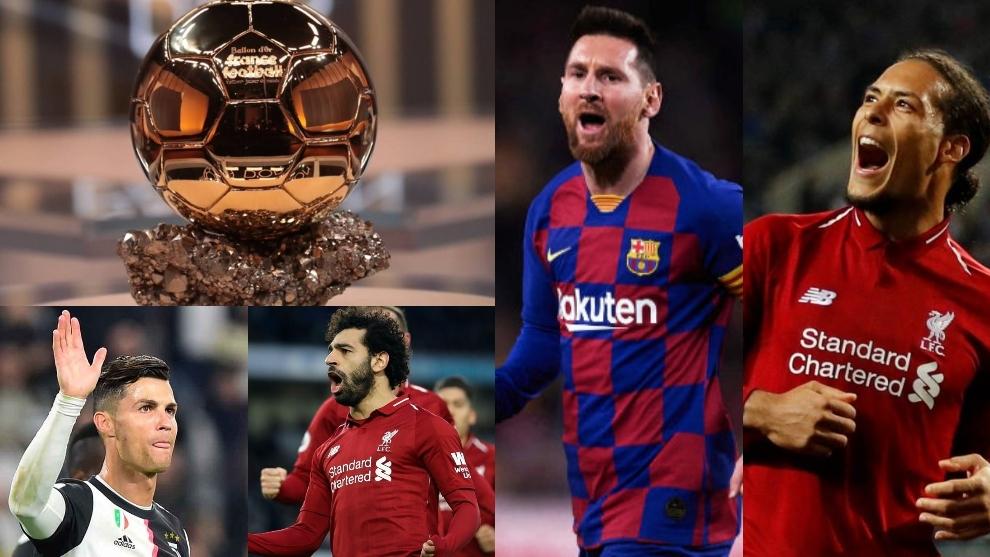 Messi, Van Dijk, Salah y Cristiano, los cuatro candidatos con más...