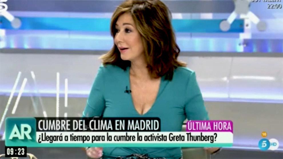 Ana Rosa Quintana y sus colaboradores criticaron la visita de la...