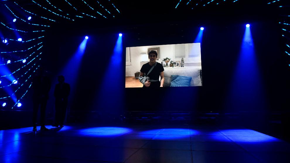 Vídeo mensaje de Marc en la Gala FIM.
