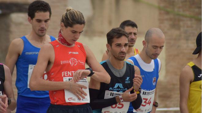 Roberto Alaiz, en la salida del cross de Alcalá de Henares