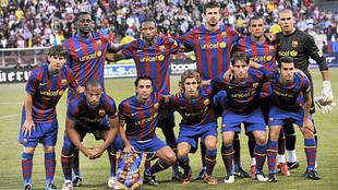 Jugadores del FC Barcelona de la temporada 2009/10