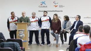 Jesús Bargueiras, seleccionador nacional de fútbol 5 de ciegos,...