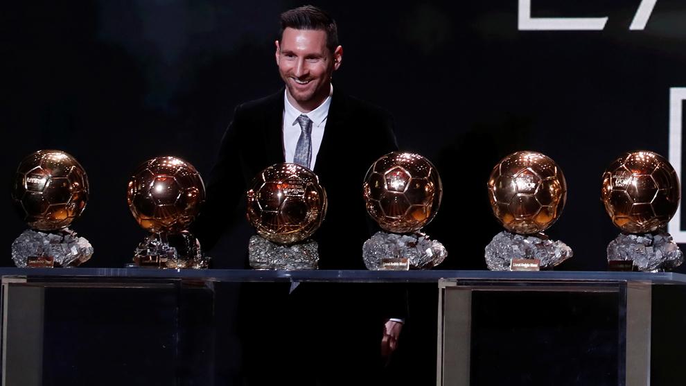 Balón de Oro 2019: Lionel Messi gana su sexto Balón de Oro   MARCA Claro  México
