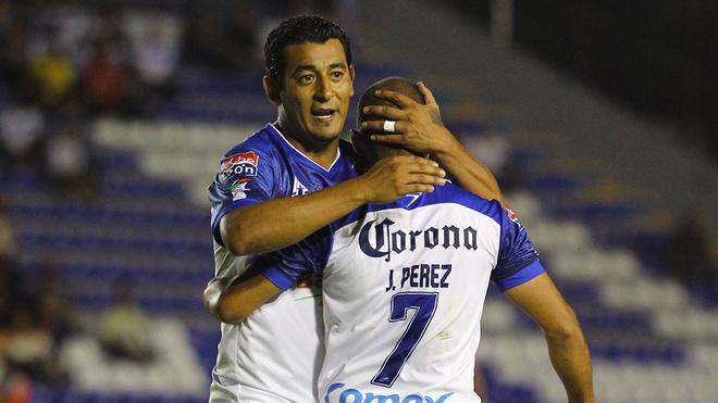 Moreno en su etapa con el Celaya.