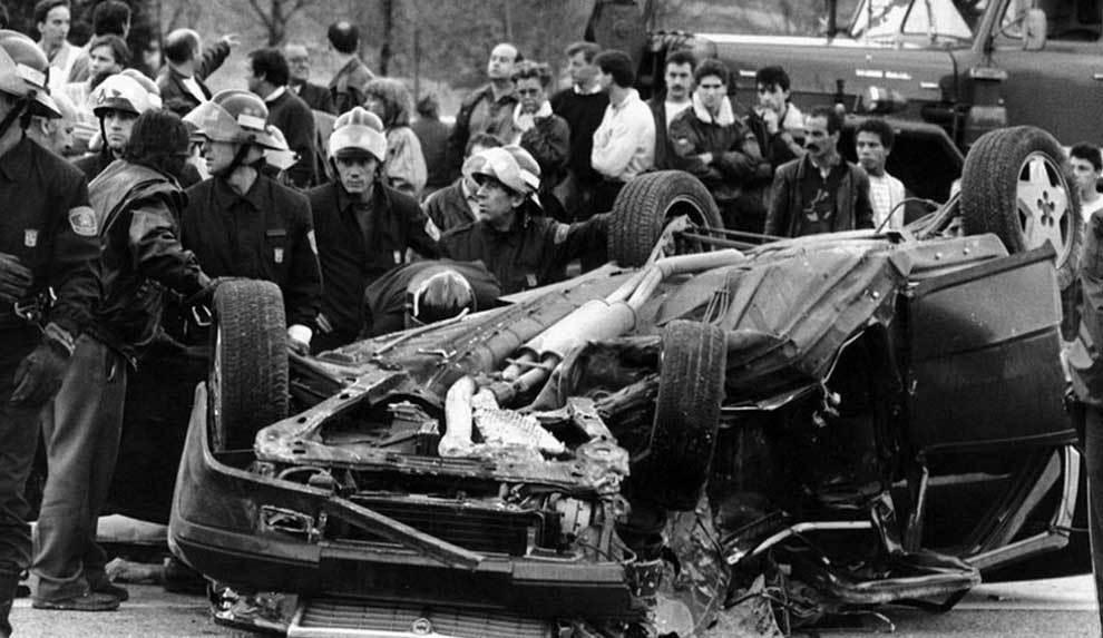 El 3 de diciembre de 1989 murió en accidente de tráfico, en la M-30...