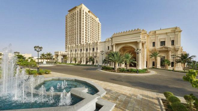 Imagen del hotel Ritz-Carlton en el que se alojará el Valencia en...