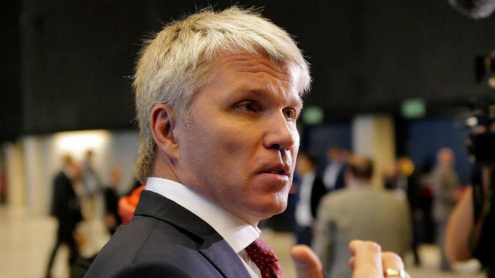 Pável Kolobkov, ministro ruso de Deportes.
