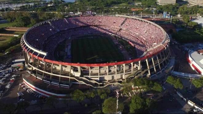 Estadio Monumental de River Plate fue evacuado por amenaza de bomba