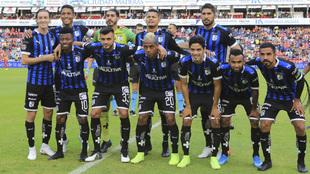 Querétaro durante el torneo Apertura 2019
