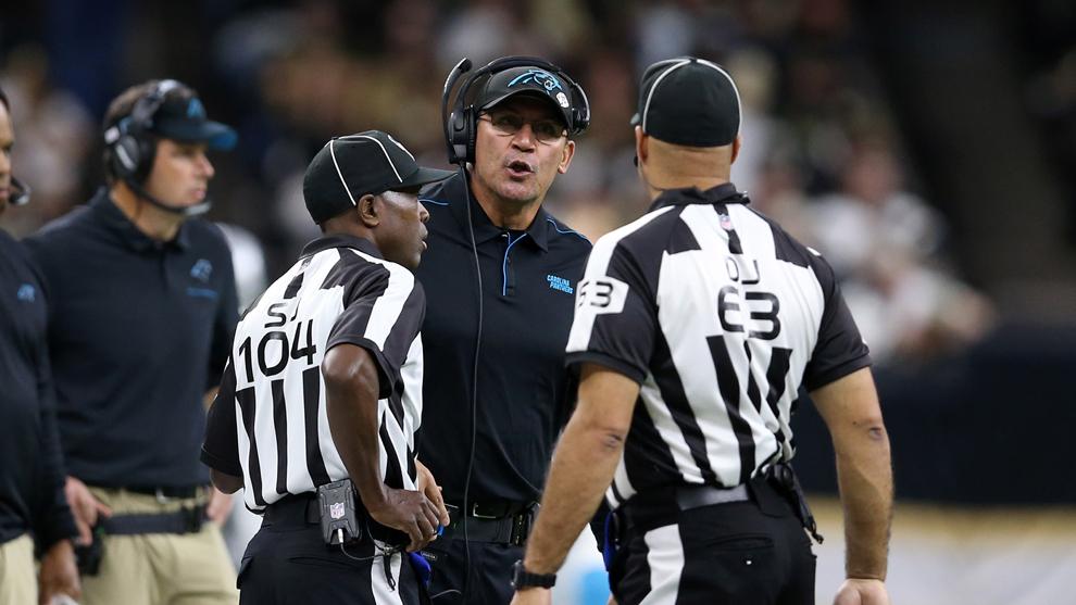 Panthers despide al entrenador Ron Rivera