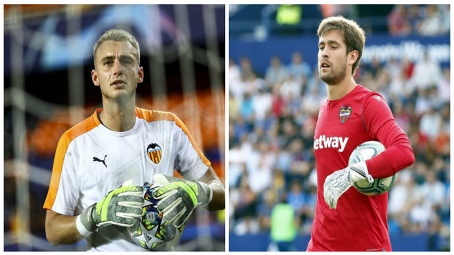 Aitor and Cillessen in action
