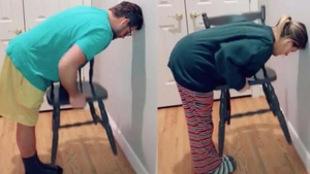 El Chair Challenge es un reto solo apto para mujeres