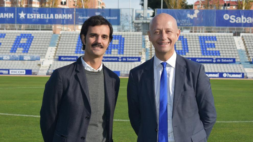 Bruno Batle, director general, y Esteve Calzada, presidente de la entidad
