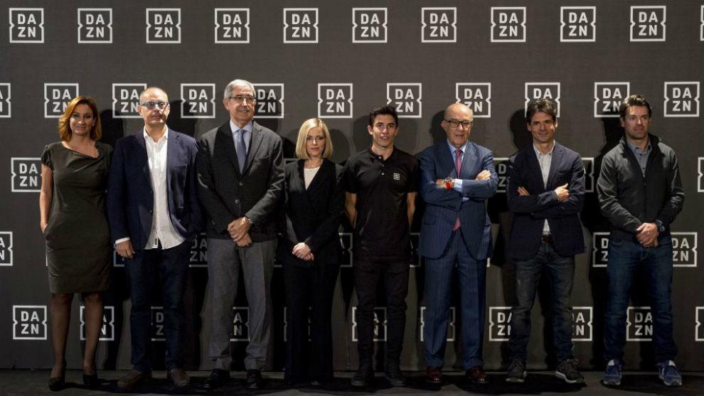 La presentación de DAZN España.