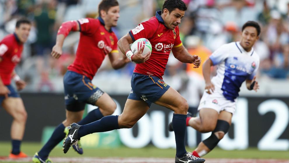 Paco Hernández, en las Series Mundiales 2018-19