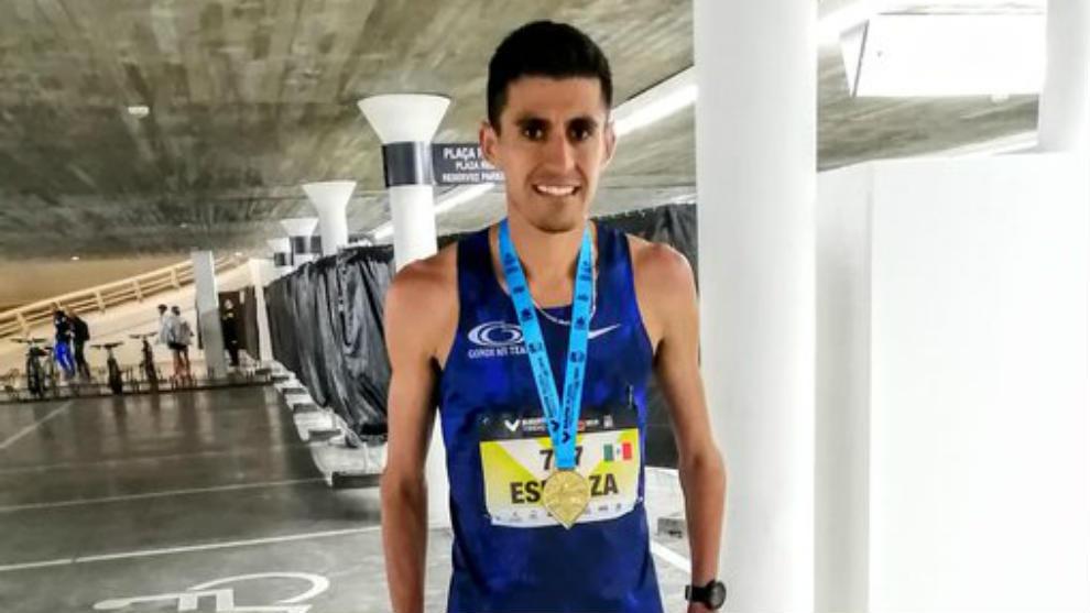 Jesús Esparza dio la marca exigida por World Athletics (antes IAAF)...