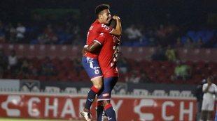 Durante su etapa con el Veracruz.