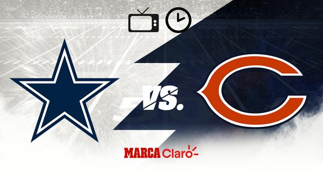 Dallas vs Bears: Horario y dónde ver